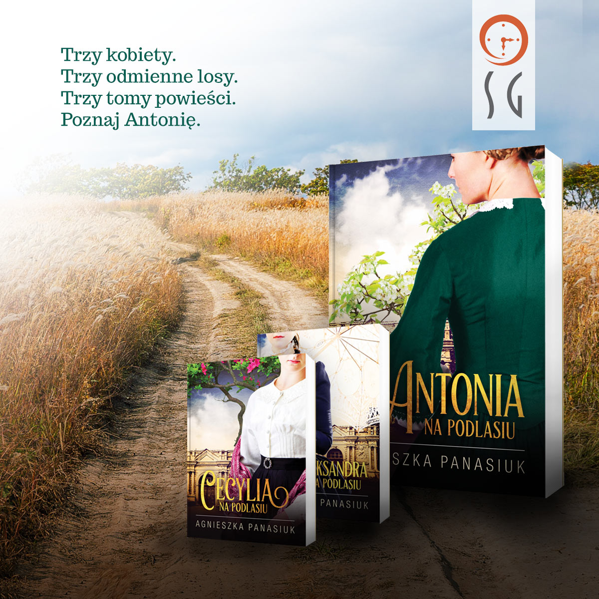 "Książka ""Na Podlasiu. Antonia"" Agnieszki Panasiuk"